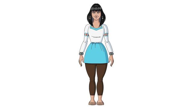 Imala est la sœur aînée de Tshakapesh. Elle est la cheffe du village, un village vert et écologique qu'elle a fondé avec Shaman sur une presqu'île en forme de tête d'ours. Elle ressent les dangers qui menacent Tshakapesh et communique avec lui par télépathie. Elle a en mémoire l'histoire des millénaires passés. Parfois, Manitu lui apparaît pour lui donner de sages conseils.