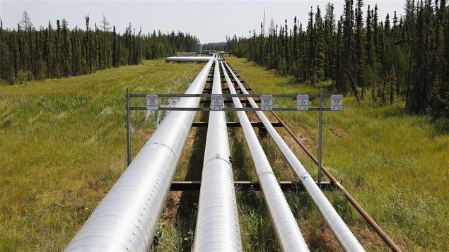 Des pipelines près de Cold Lake, en Alberta