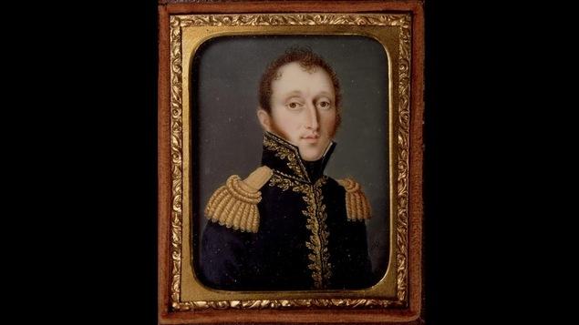Portrait d'Aaron Ezekiel Hart (1803-1857), par Dominic Boutet, vers 1831
