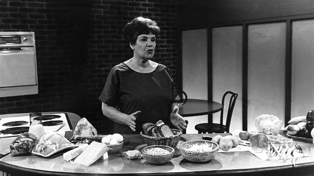 Jehane Benoit à l'émission Femme d'aujourd'hui, en 1967