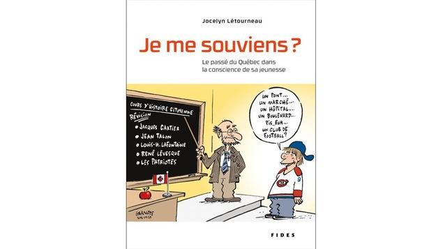 La couverture du livre «Je me souviens?» de Jocelyn Létourneau