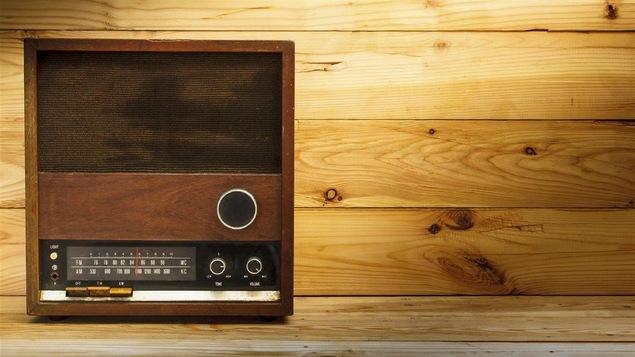 Une radio d'une autre époque