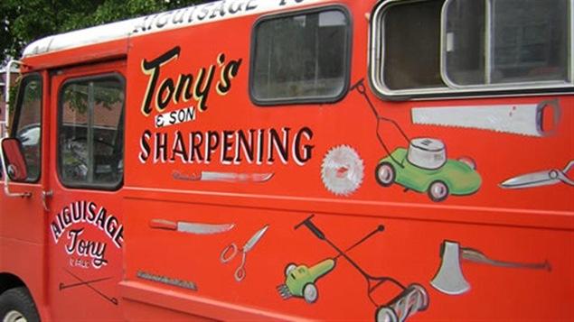Le camion du rémouleur Tony