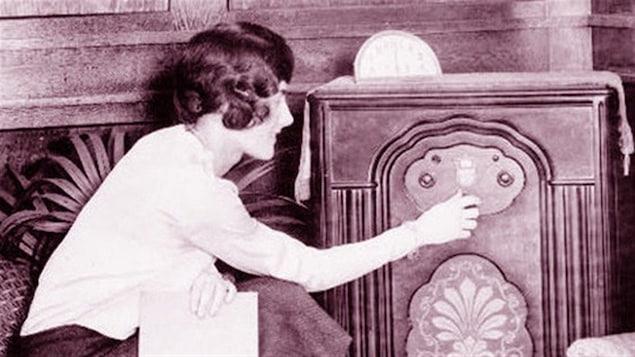La radio dans les années 1920