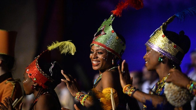 Danseuses africaines