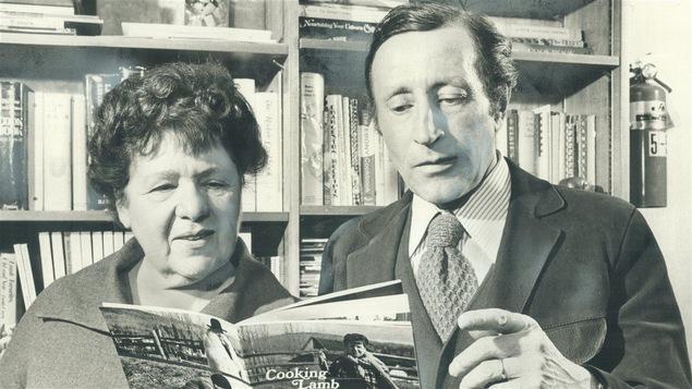 Jehane Benoit et son mari Bernard