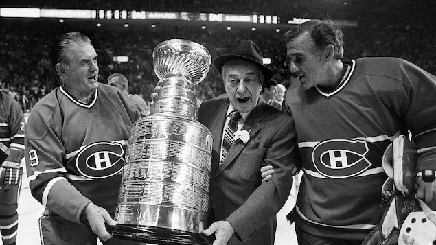 Maurice Richard, Toe Blake et Jacques Plante