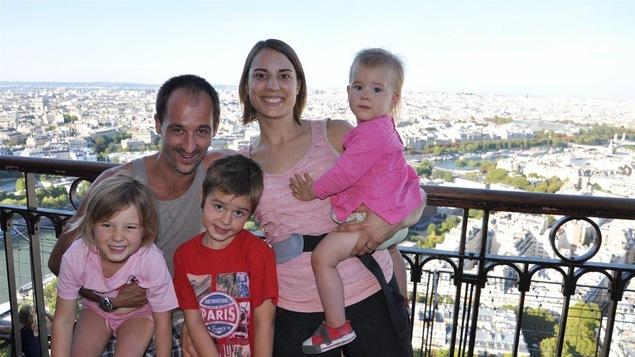 Alexandre Paraskevas, Automn Wilson et leurs enfants