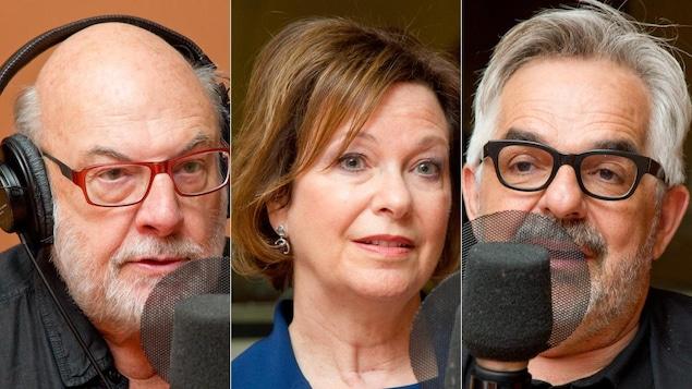 René Homier-Roy, Karen Karpman et Gilles Saucier