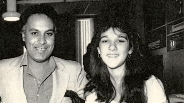 René Angélil et Céline Dion en 1981