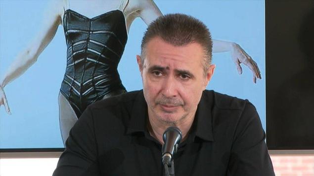 Édouard Lock rencontrait la presse ce mercredi 2 septembre pour annoncer la cessation des activités de LA LA LA Human Steps