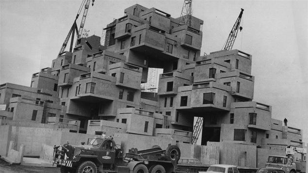 Habitat 67 en 1966
