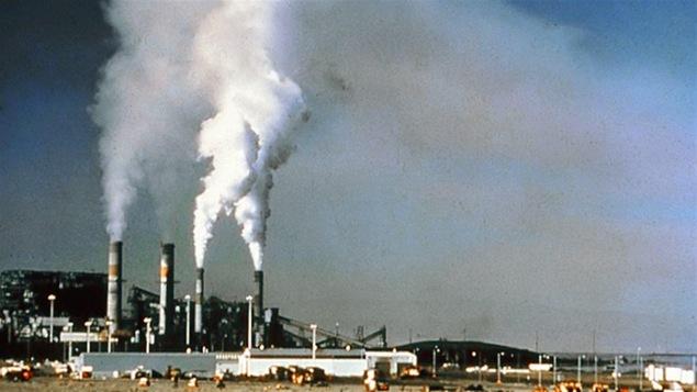 Une usine américaine dans les années 80
