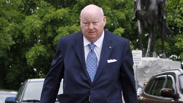 Le sénateur Mike Duffy, le 28 mai 2013