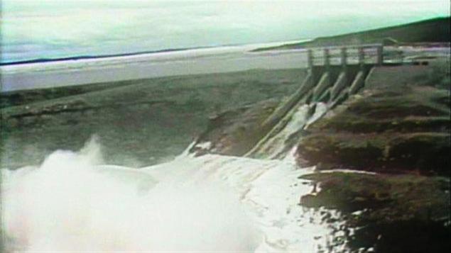 Le barrage LG4 sur la rivière La Grande, dans le nord du Québec