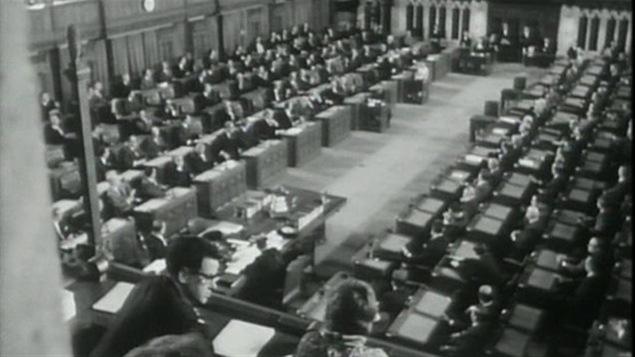 La Chambre des communes en 1967
