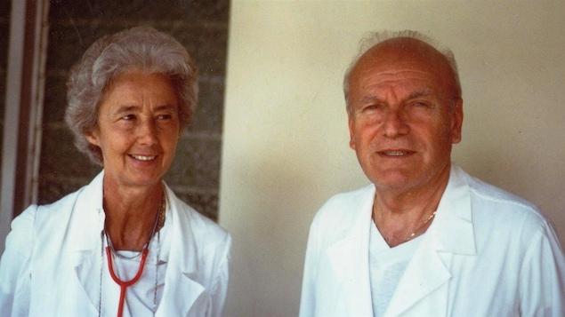 Lucille Teasdale-Corti et Pierre Corti