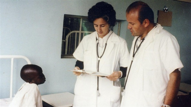 Lucille Teasdale à l'hôpital St. Mary