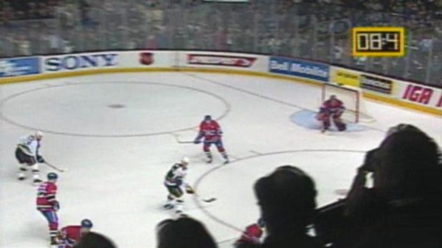 La dernière minute de jeu des Canadiens au Forum de Montréal le 11 mars 1996