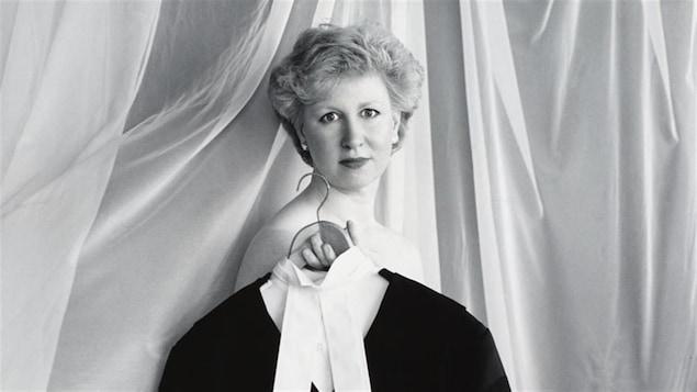 Kim Campbell, ministre de la Justice, en 1990