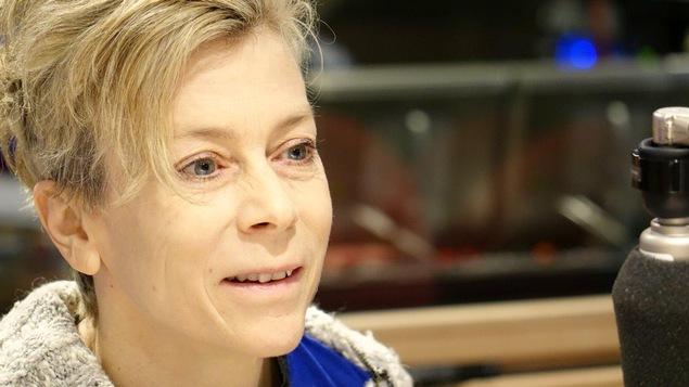 Louise Lecavalier dans le studio de Gravel le matin