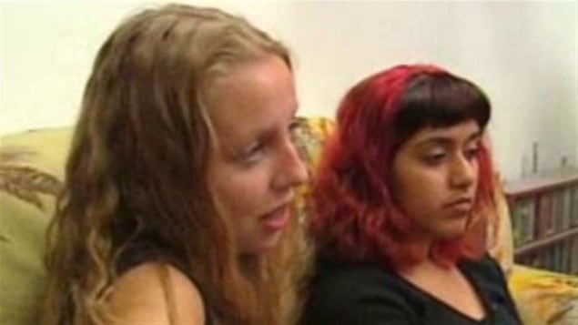 Eryn Fitzgerald et Christine Jairamsingh