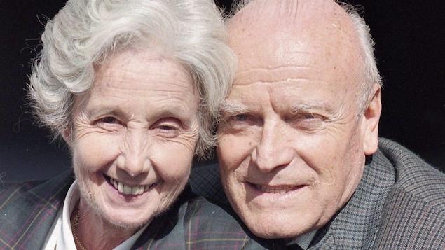 Lucille Teasdale-Corti et Pierre Corti en 1995