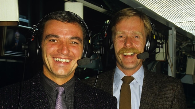 Mario Tremblay et Claude Quenneville en 1986