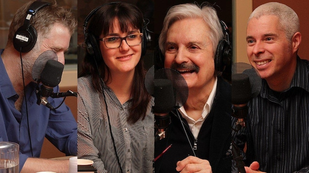 Fred Savard, Julie Dufort, Marc Laurendeau et Robert Aird