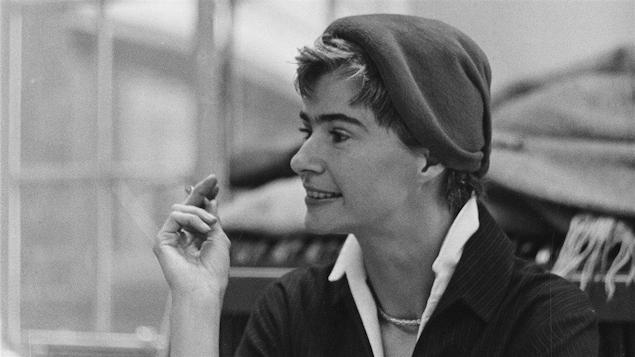 Anne Hébert en 1958