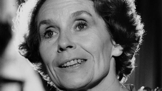 La comédienne Françoise Faucher en 1979