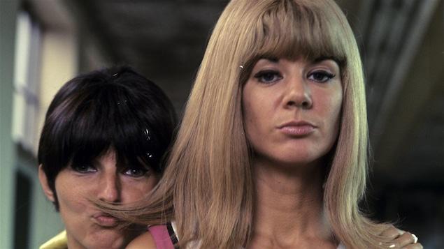 Dominique Michel et Denise Filiatrault le 22 août 1966
