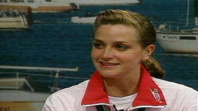 Sylvie Fréchette en 1990