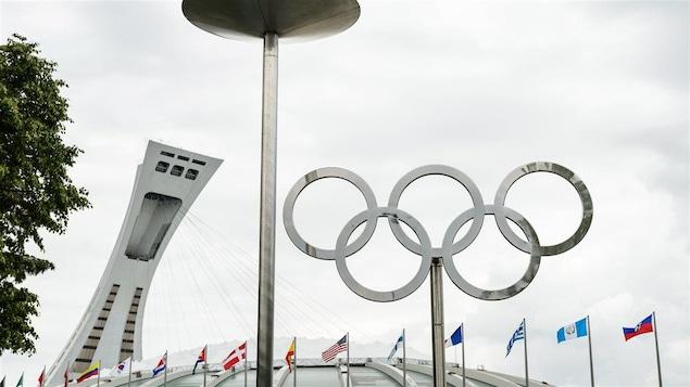 Le Stade olympique de Montréal, en 2015