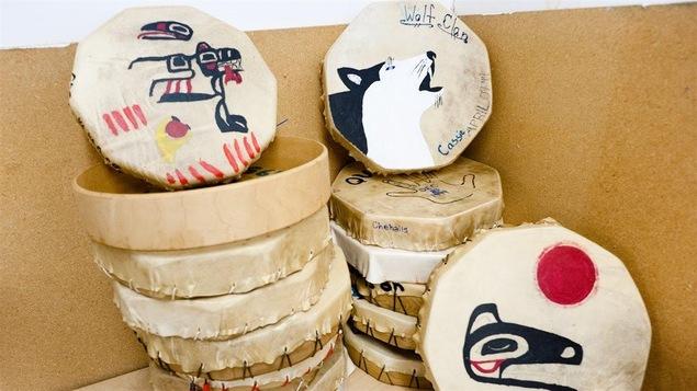 Des tambours confectionnés à Vancouver