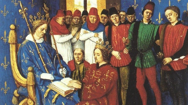 Edward I rend ses hommages à Philippe IV.