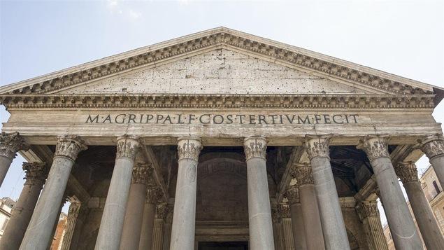Le Panthéon de Rome était dédié à tous les dieux.