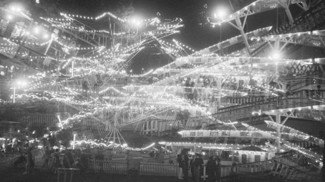 Le parc Belmont le soir du 3 juillet 1939