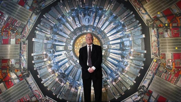 Le scientifique qui a théorisé l'existence du boson de Higgs, Peter Higgs
