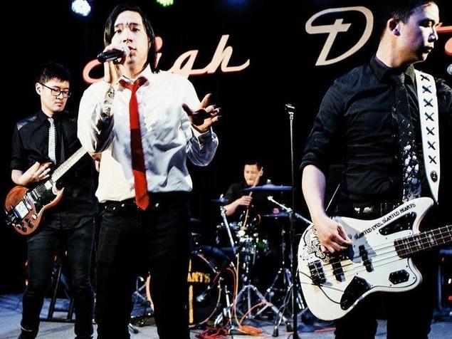 Le groupe The Slants