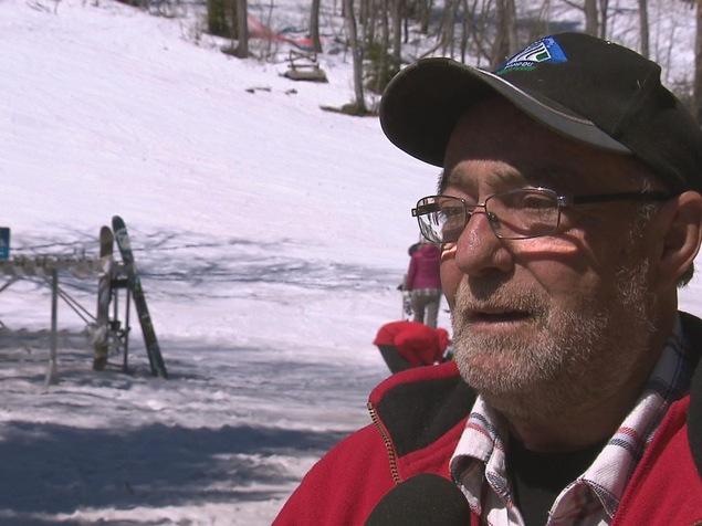Denis Roussel, directeur du Parc du Mont-Comi et président du Groupe Roussel