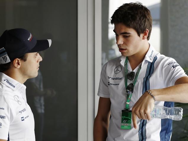 Felipe Massa et Lance Stroll (à droite)