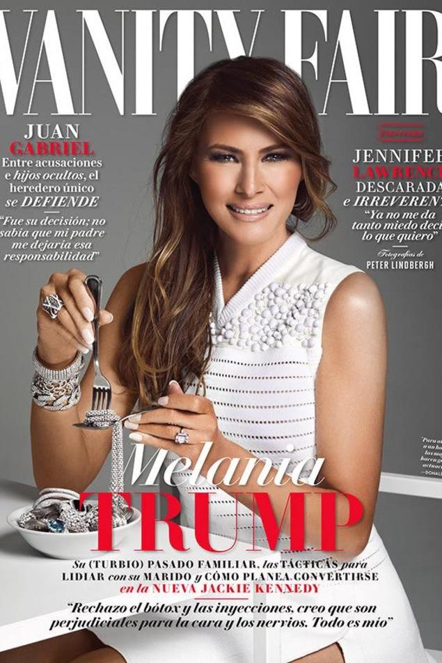 Melania Trump au coeur d'une controverse à la une du ...
