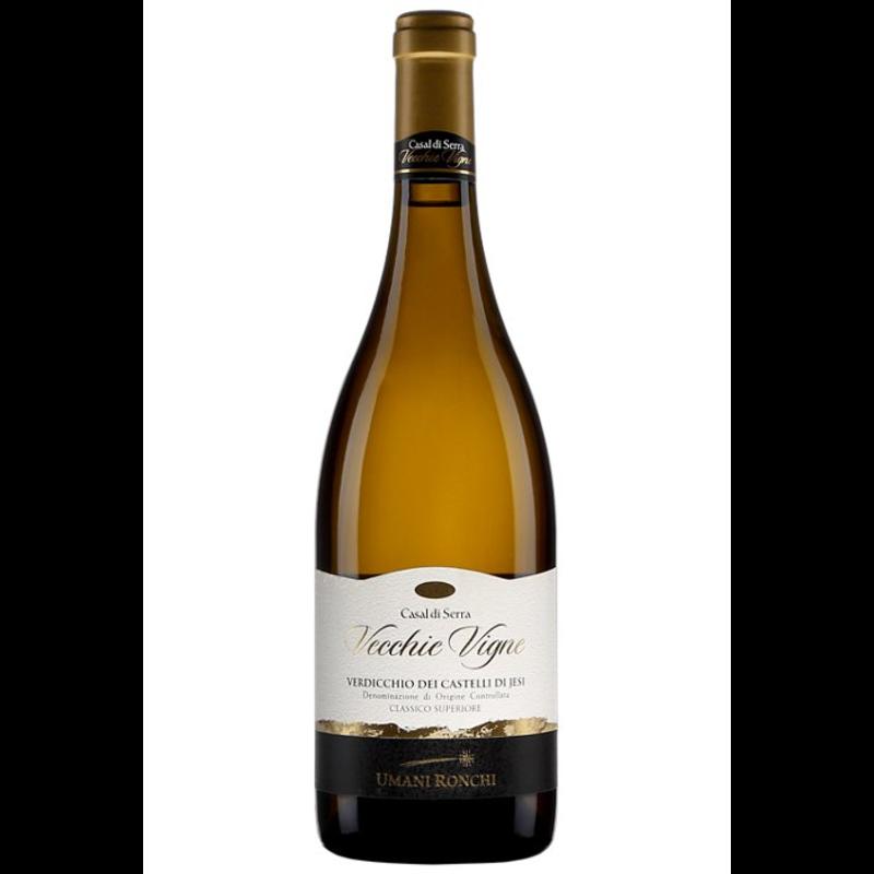 Bouteille de vin blanc Umani Ronchi Casal di Serra Vecchie Vigne 2016, 26,15$.