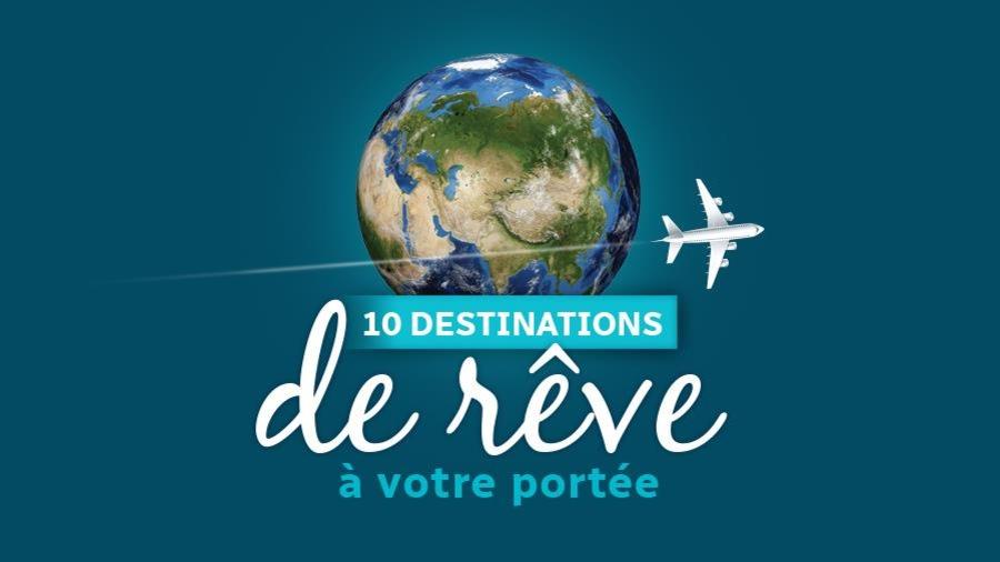 Image du concours 10 destinations de rêve