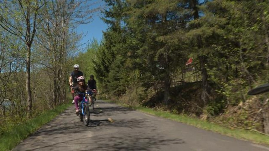 Trois cyclistes
