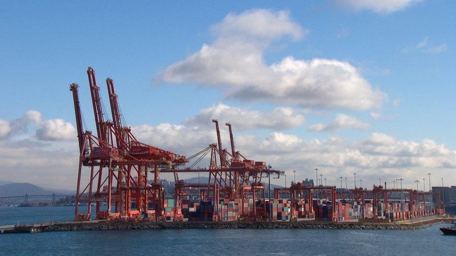 Le terminal Centerm de Port Metro Vancouver