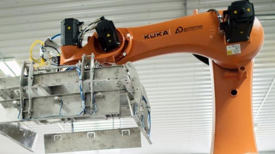 Un projet de robotique réalisé par l'entreprise Automatisation D'Amours à Sayabec.