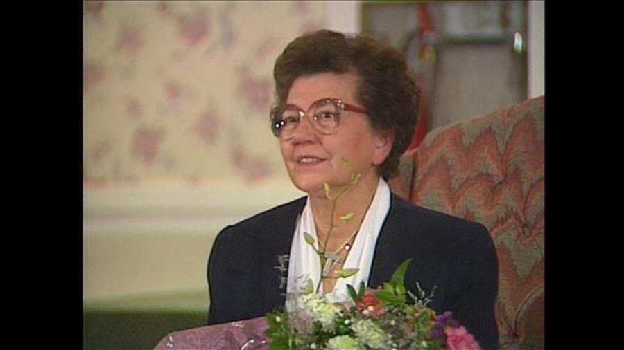 Soeur Thérèse Potvin, de la congrégation des Soeurs de l'Assomption