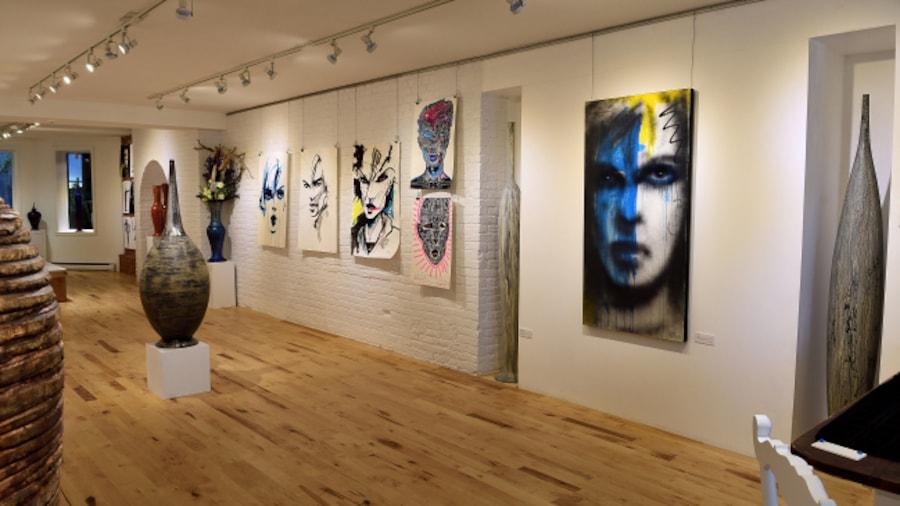 L'exposition Zilon/Zen à la Galerie Tommy Zen